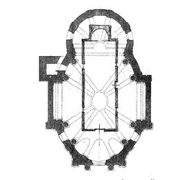 Pianta architettonica del Santuario